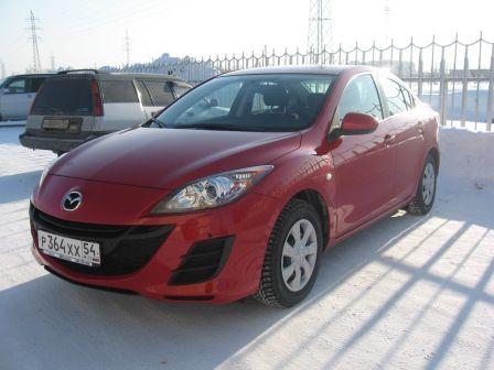 Mazda Mazda3 2009 - отзыв владельца