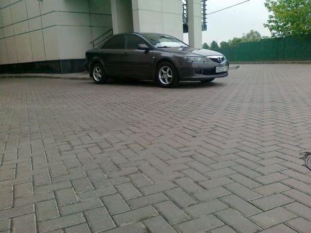Mazda Mazda6 2007 - отзыв владельца
