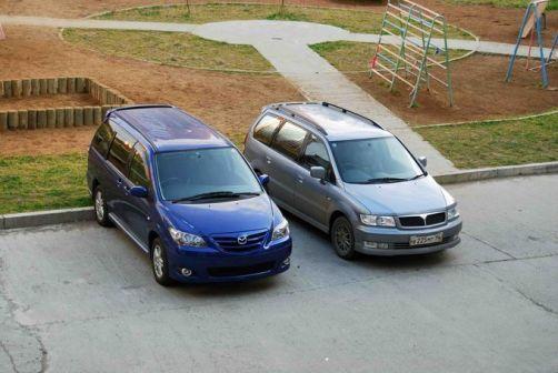 Mazda MPV 2004 - отзыв владельца