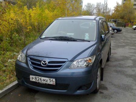 Mazda MPV 2005 - отзыв владельца