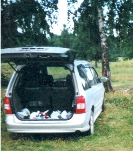 Mazda MPV  - отзыв владельца