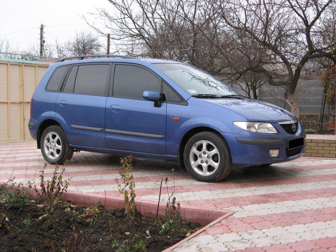 mazda premacy, 2001 тест драйв