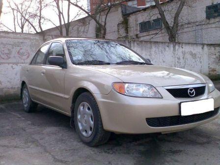 Mazda Protege 2001 - отзыв владельца