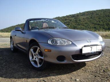 Mazda Roadster 2002 отзыв автора | Дата публикации 04.09.2008.