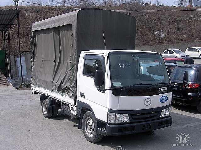 самодиагностика грузовика mazda titan с 2004г