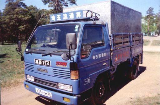 Mazda Titan 1993 - отзыв владельца