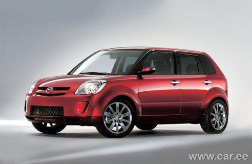 Mazda Verisa 2004 - отзыв владельца