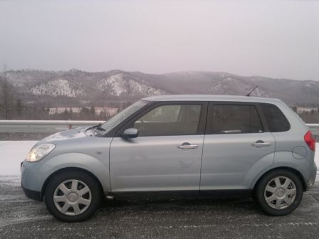 Mazda Verisa 2007 - отзыв владельца