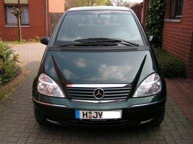 Mercedes-Benz A-Class, 2002