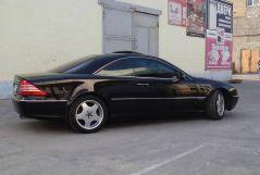 Mercedes-Benz CL-Class, 2002