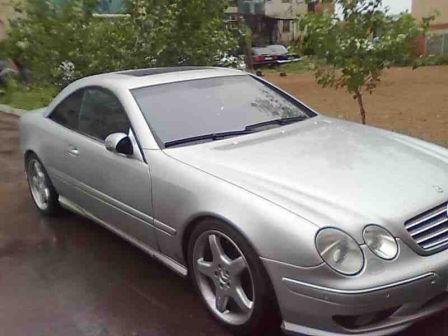 Mercedes-Benz CL-Class 2002 - отзыв владельца