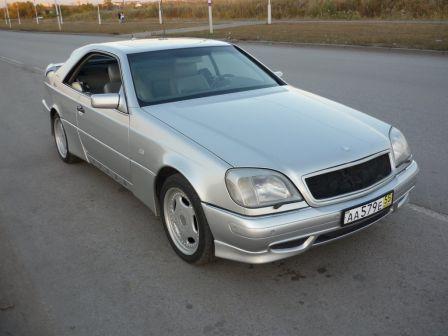 Mercedes-Benz CL-Class 1998 - отзыв владельца