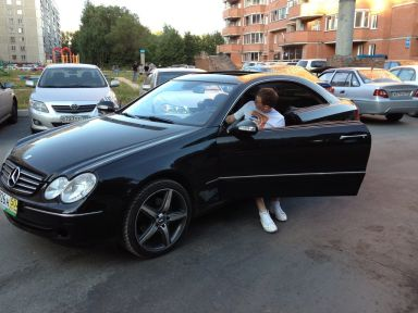 Mercedes-Benz CLK-Class, 2002