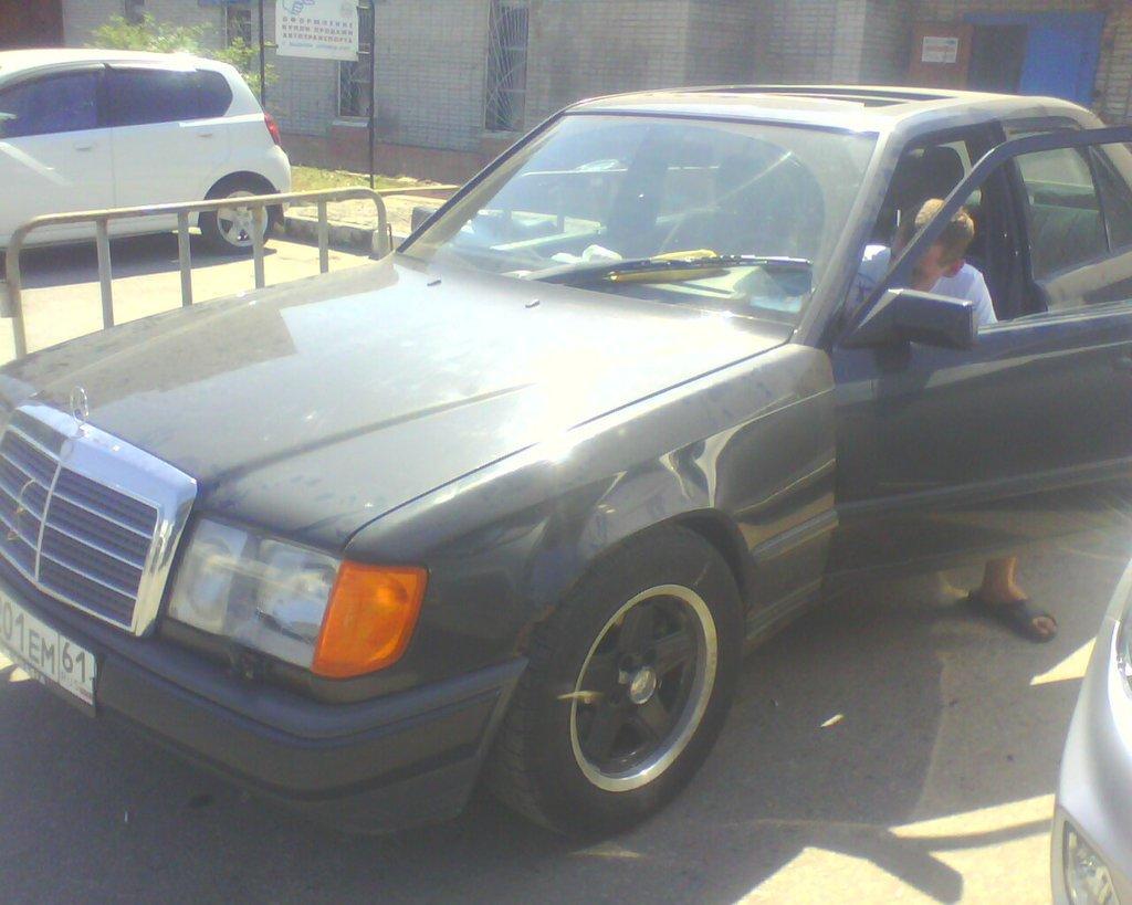 мерседес е купе 1991-1995 года выпуска