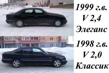 Mercedes-Benz E-Class, 1999