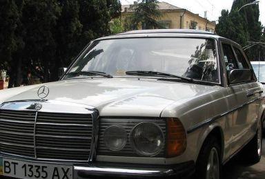 Mercedes-Benz E-Class, 1977