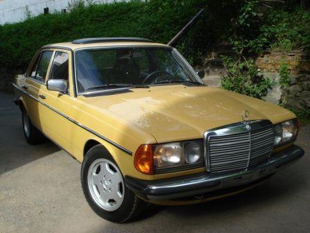 Mercedes-Benz E-Class 1980 - отзыв владельца