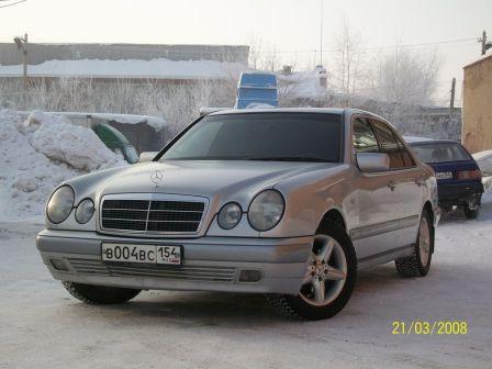 Mercedes-Benz E-Class 1997 - отзыв владельца