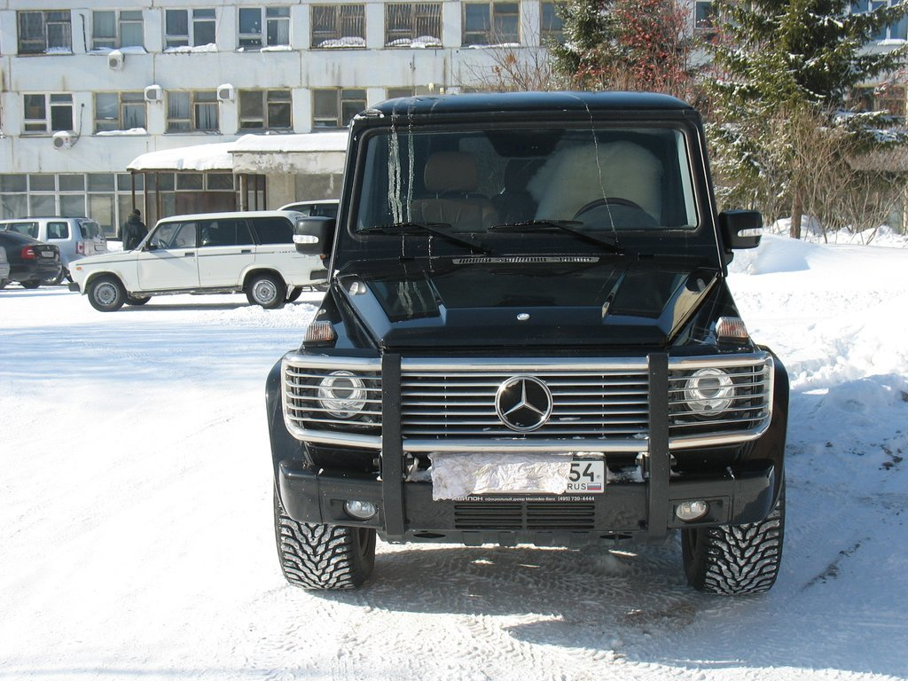 G 2008 5 4 for Mercedes benz g500 review
