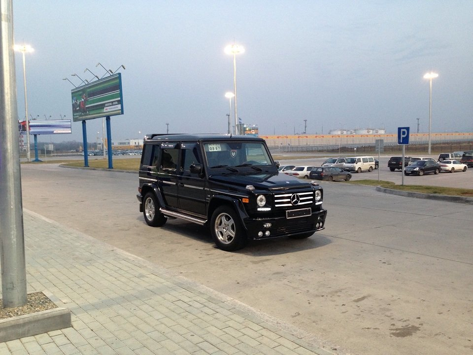 G 2006 5 5 for Mercedes benz g500 review