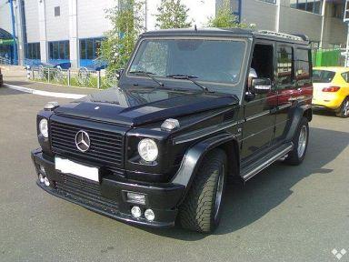 Mercedes-Benz G-Class, 2002