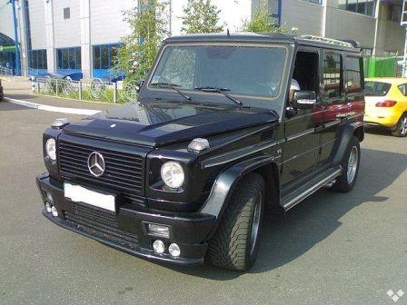 Mercedes-Benz G-Class 2002 - отзыв владельца