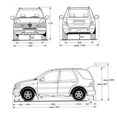 Mercedes-Benz M-Class, 1999