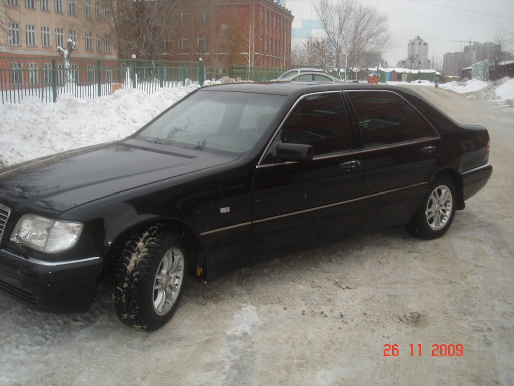 Mercedes benz s class 1998 5 for Biggest mercedes benz