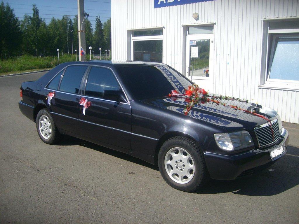 мерседес 140 кузов 1999 года установка сигнализации