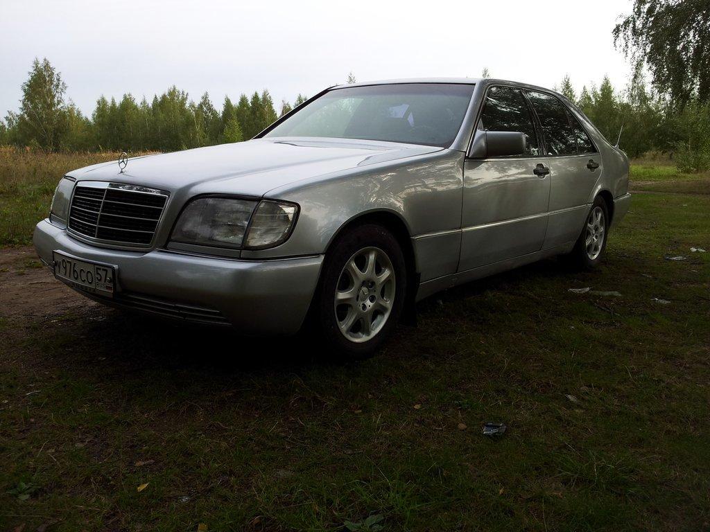 Mercedes benz s class 1993 3 2 for Biggest mercedes benz