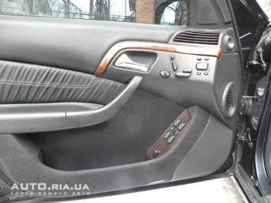 Mercedes-Benz S-Class, 1999