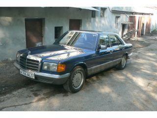 Mercedes-Benz S-Class 1985 - отзыв владельца