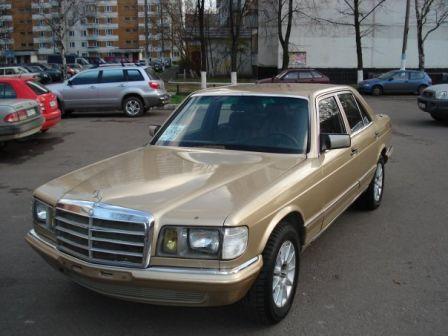 Mercedes-Benz S-Class 1984 - отзыв владельца