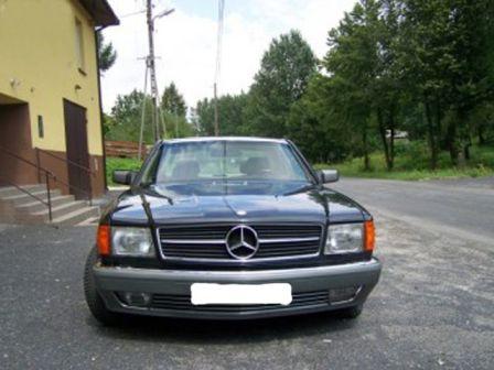 Mercedes-Benz S-Class 1988 - отзыв владельца