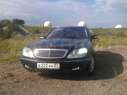 Mercedes-Benz S-Class 2000 - отзыв владельца