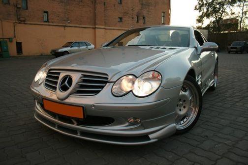 Mercedes-Benz SL-Class 2007 - отзыв владельца