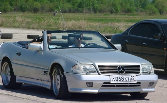 Mercedes-Benz SL-Class 1994 - отзыв владельца