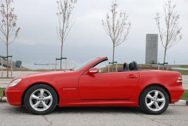 Mercedes-Benz SLK-Class, 2002