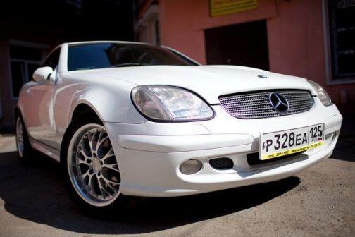 Mercedes-Benz SLK-Class 2001 - отзыв владельца