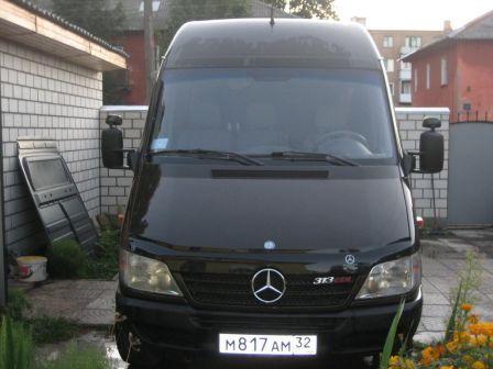 Mercedes-Benz Sprinter 2001 - отзыв владельца