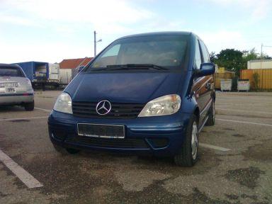 Mercedes-Benz Vaneo 2004 отзыв автора | Дата публикации 08.10.2011.