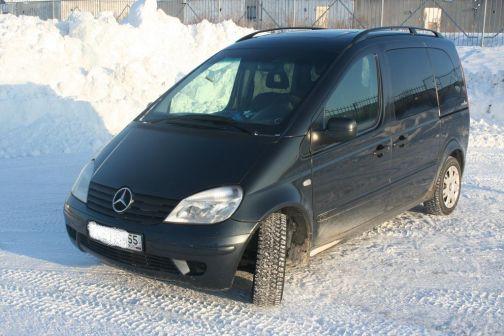 Mercedes-Benz Vaneo 2003 - отзыв владельца