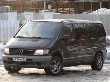 Mercedes-Benz Vito 2001 отзыв автора | Дата публикации 25.07.2012.