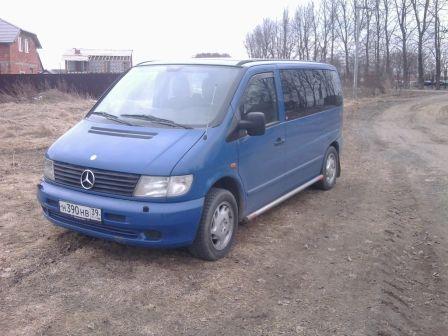 Mercedes-Benz Vito 1999 - отзыв владельца