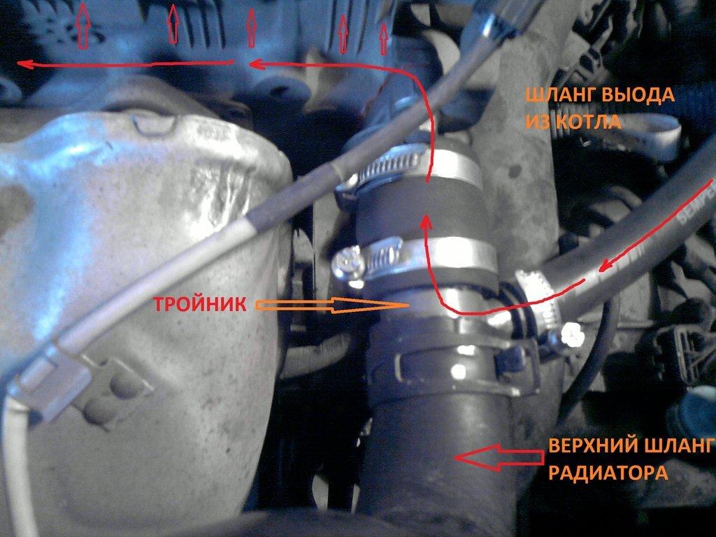 фото видео установки предпускового подогревателя renault symbol