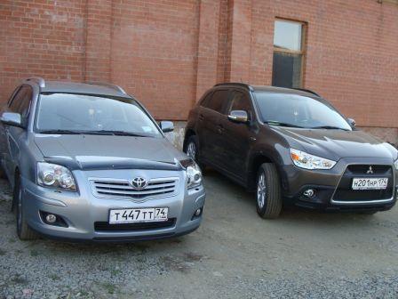 Mitsubishi ASX 2011 - отзыв владельца