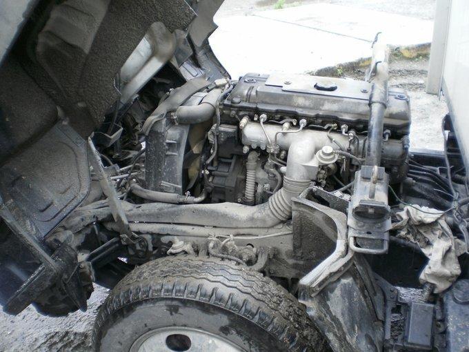 mitsubishi canter не заводится двигатель
