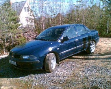 Mitsubishi Carisma 2001 отзыв автора | Дата публикации 07.01.2008.