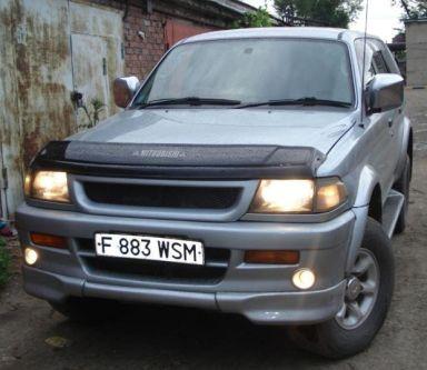 Mitsubishi Challenger, 1996