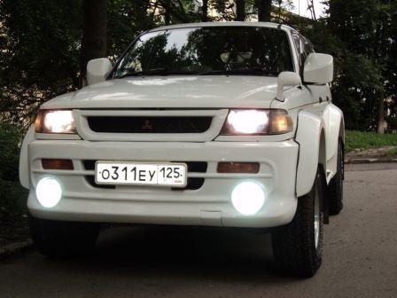 Mitsubishi Challenger 1997 - отзыв владельца